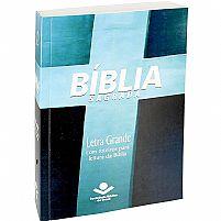 BÍBLIA SAGRADA - LETRA GRANDE - RA - CRUZ