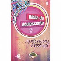 BIBLIA DA ADOLESCENTE APLICAÇÃO PESSOAL DURA ROSA 9788526308176