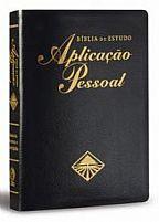 BIBLIA DE ESTUDO APLICAÇÃO PESSOAL GRANDE PRETA