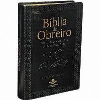 BIBLIA DO OBREIRO RC CAPA EM COURO BONDED