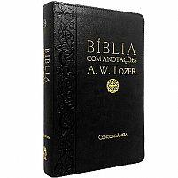 BIBLIA COM ANOTAÇOES PRETA  A.W. TOZER