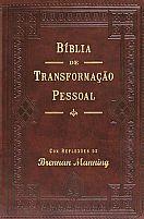 BIBLIA DE TRANSFORMAÇAO PESSOAL MARROM BRENNAN MANNING   TRANSFORMAÇAO PESSOAL