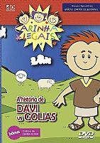 DVD CARINHAS LEGAIS A HISTORIA DE DAVI VS GOLIAS