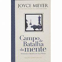 CAMPO DE BATALHA DA MENTE CAPA DURA EDIÇAO COMEMORATIVA   JOYCE MEYER 9788583210276