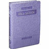 BIBLIA RA LETRA GIGANTE COM INDICE DIGITAL VIOLETA 7898521811167