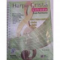 HARPA CRISTA CIFRADA COM CIFRAS E PARTITURAS 9788589464482