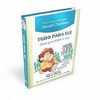 LIVRO DEVOCIONAL TUDO PARA ELE JESUS QUER TUDO DE MIM OSWALD CHAMBERS  9781680430981