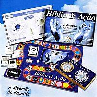 JOGO BIBLIA E AÇAO 7896575101135