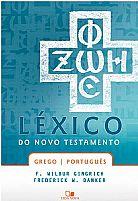 LIVRO LÉXICO DO NOVO TESTAMENTO GREGO E PORTUGUES  9788527500852