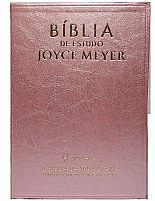 BIBLIA DE ESTUDO JOYCE MEYER ROSA