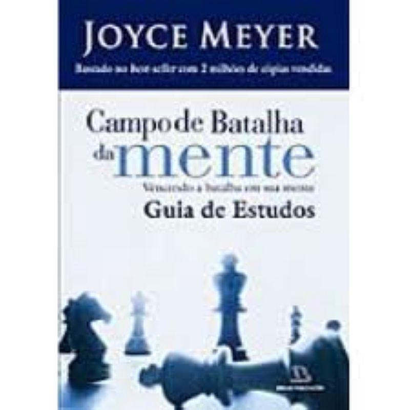 Livro Campo De Batalha Da Mente Guia De Estudo Joyce Meyer